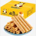 图牛芝士咸蛋黄508g 礼盒装 卷心酥鸡蛋卷饼干零食品