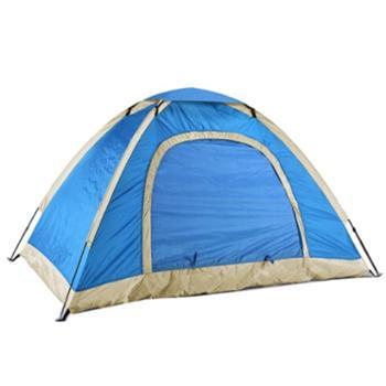 纵贯线 户外露营双人单层帐篷