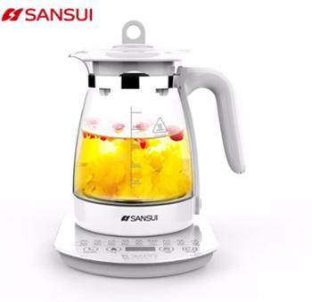 山水(SANSUI)煮茶器电水壶电热水壶烧水壶花茶壶JM-SSH8812