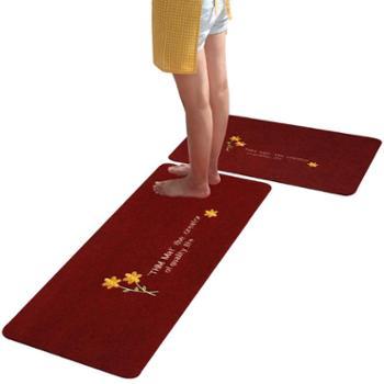厨房地垫长条防油脚垫卫浴防滑门口吸水门垫地垫进门卧室家用地毯