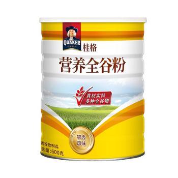 桂格 中国台湾 五谷杂粮营养全谷粉银杏风味 600g