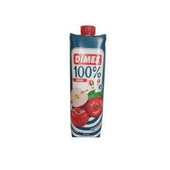 迪美汁 土耳其进口 100%苹果汁 1L*2盒