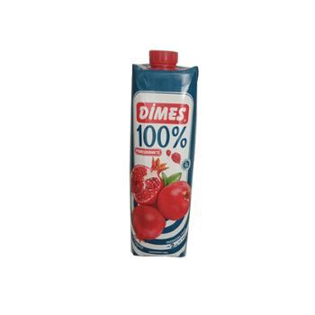 迪美汁 土耳其进口 100%石榴汁 1L*2盒