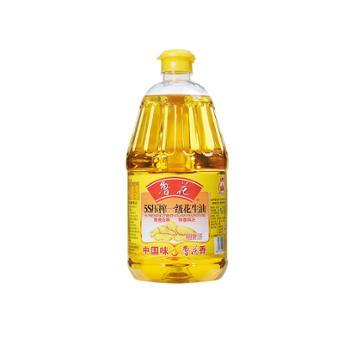 鲁花 5S 物理压榨 一级花生油 1.8L