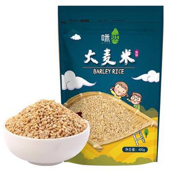 咪然 大麦米 400g*2袋