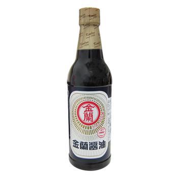 金兰 中国台湾酱油+油膏 2瓶(590ml+590ml)