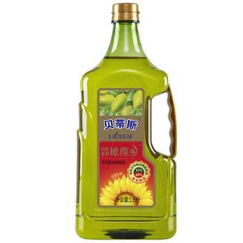 贝蒂斯 葵花橄榄调和油 12%特级初榨橄榄油 1.6L