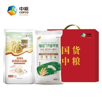 福临门 营养厨房面粉礼盒A 1.8kg