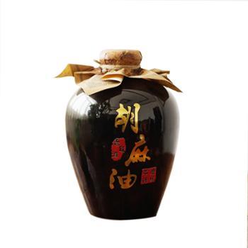 石门峪亚麻籽油孕妇月子食用油坛装2.5L/坛