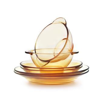 康宁Revere臻宝系列琥珀色耐热玻璃餐具六件套 RWU-6/HC