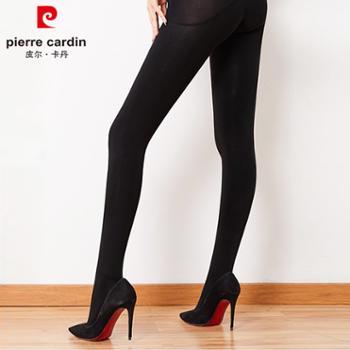 皮尔卡丹女士缎面纤维保暖连裤袜