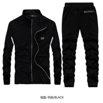 JEEP/吉普男士运动开衫卫衣套装JPCS7709BF