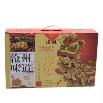 连胜沧州味道酱菜礼盒6瓶装
