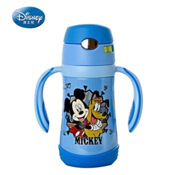 迪士尼儿童不锈钢吸管保温杯三用320ML