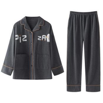 青年里 睡衣七件套 全棉