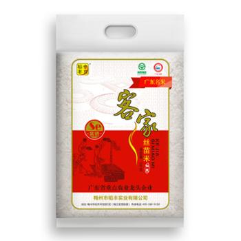 金良稻丰 客家丝苗米 5kg 米粒细长 天然香米
