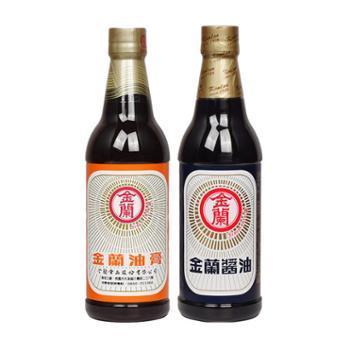 金兰台湾进口酱油油膏590mL