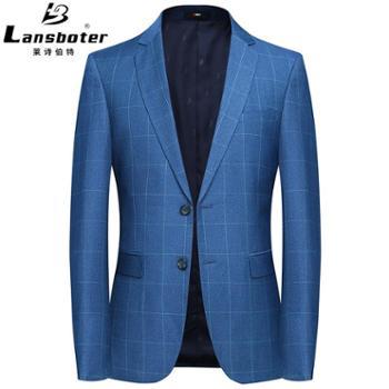 莱诗伯特男式西装休闲西装韩版西服男青年修身小西装男西服男式外套男装男西装