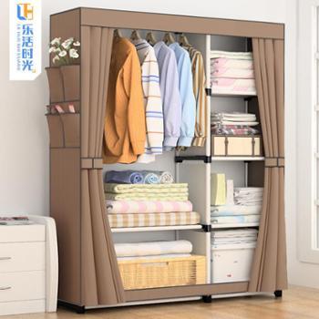 简易衣柜布艺经济型简易衣柜布衣橱组合衣柜简约现代经济型收纳柜
