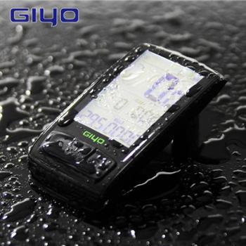 GIYO自行车码表蓝牙无线公路车测速仪里程表背光防水M4骑行用品