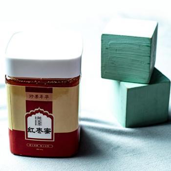 新疆特产枣花蜂蜜*天然野生蜂蜜枣花蜜红枣蜜500g