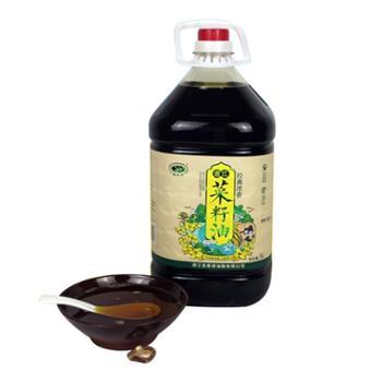 诺水河 四川通江传统物理压榨 菜籽油 5L/壶