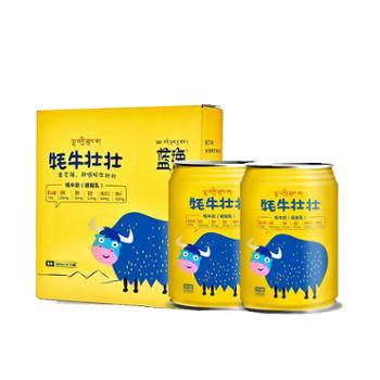 蓝逸 牦牛壮壮 牦牛奶整箱 245mL*12罐
