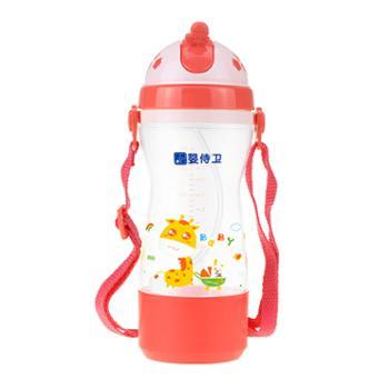 婴侍卫缤纷儿童背带吸管杯(350毫升)F631