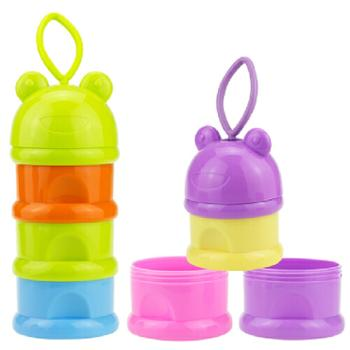 婴侍卫高容量分层奶粉盒F702