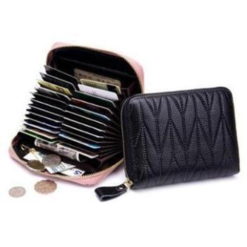 多功能卡包护照包真皮大容量拉链零钱卡片包rfid时尚旅行收纳包CL-7120