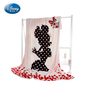 Disney/迪士尼云貂绒毛毯加厚双层毯