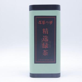 茗艺之国精选绿茶150克