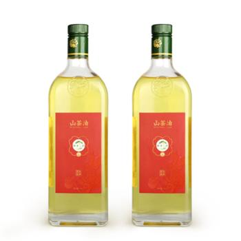 蜂凌三韵永胜山茶油750ml*2瓶装