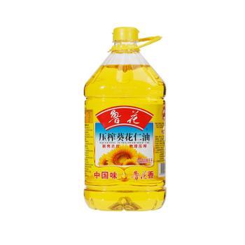 鲁花 物理压榨葵花仁油 5L