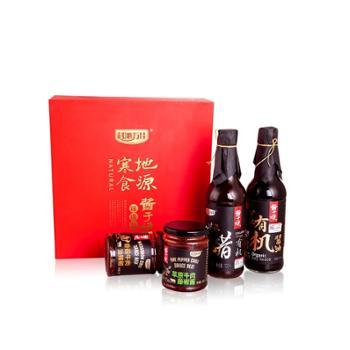 酱于娘调味品礼盒500ml*2+245g*2