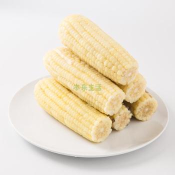本来生活 黑土地有机速冻鲜糯白玉米 400g*6袋(12穗)