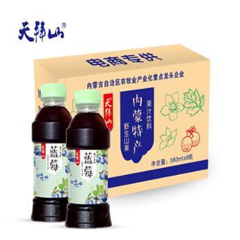 天拜山 蓝莓汁 380ml*8瓶