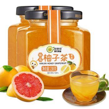 东大韩金蜂蜜柚子茶238gX2瓶