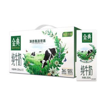 伊利金典纯牛奶250ml*12盒