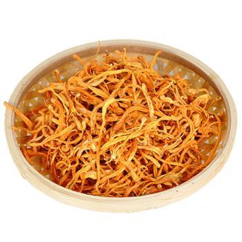 食果源 虫草花干货煲汤材料200g/袋*2袋