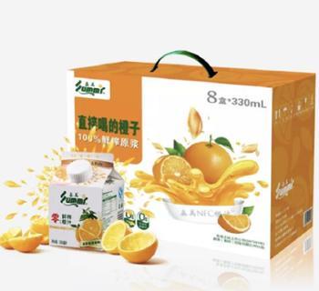 森美 NFC橙汁 330ml*8盒