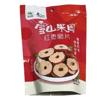 雪山果园 红枣脆片 50g