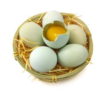 张许秋土鸡蛋绿壳50枚