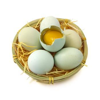 张许秋土鸡蛋绿壳30枚装
