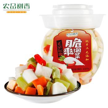 农品浏香脆爽泡菜450g/坛