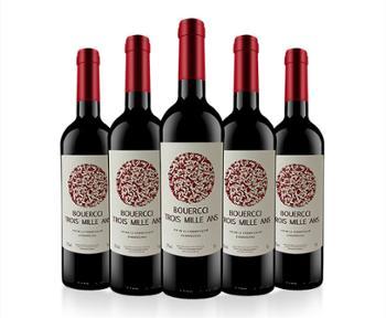 三世情缘法国原装进口三世情缘赤霞珠干红葡萄酒6支整箱750ml