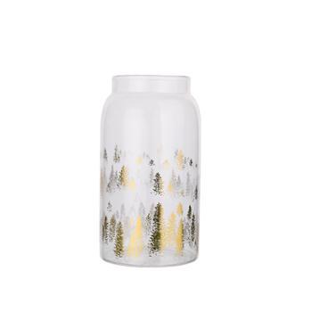 海畅高硼硅玻璃储物罐巧克力糖果储物罐单个