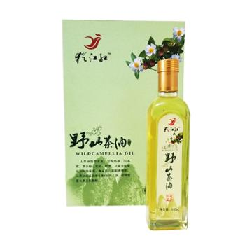 犹江红赣南特产犹江红山茶油礼盒装500ml*2瓶