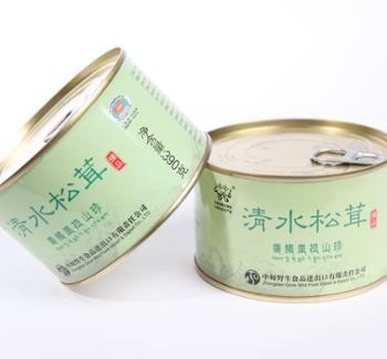 雅波清水松茸罐头礼盒4罐/盒;390克/罐