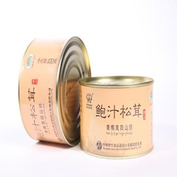 雅波鲍汁松茸罐头礼盒4罐/盒;400克/罐